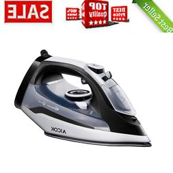 Aicok Steam Iron, 1400W Non-Stick Soleplate Iron For Clothes