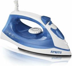 Steam Iron 1200 Watt Nonstick Sole plate Portable Small Size