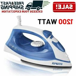 Steam Iron Clothes Electric Press Garment Travel Compact Han