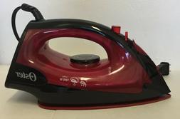 Oster Steam Iron Non-Stick Colored Soleplate/ Plancha de Vap