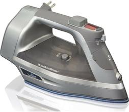 Hamilton Beach Steam Iron with 3-Way Auto Shutoff  Durathon