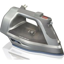 Hamilton Beach Steam Iron with 3-Way Auto Shutoff & Durathon