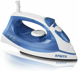 Steam Iron with Nonstick Soleplate Small Size Lightweight 12