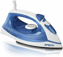 Utopia Home Steam Iron with Nonstick Soleplate Small Size Li