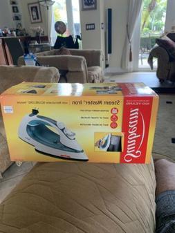 Sunbeam Steam Master Iron - Chrome & Teal