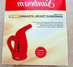 Sunbeam SB51R Handheld Compact Garment Steamer Red