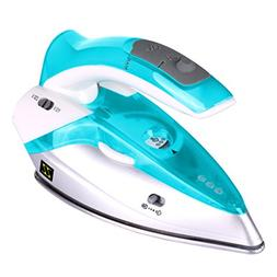 ZZ TI962-G Dual Voltage Travel Steam Iron with Stainless Ste