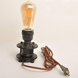 Decoluce Vintage Industrial Table Pipe Desk Lamp Retro Loft